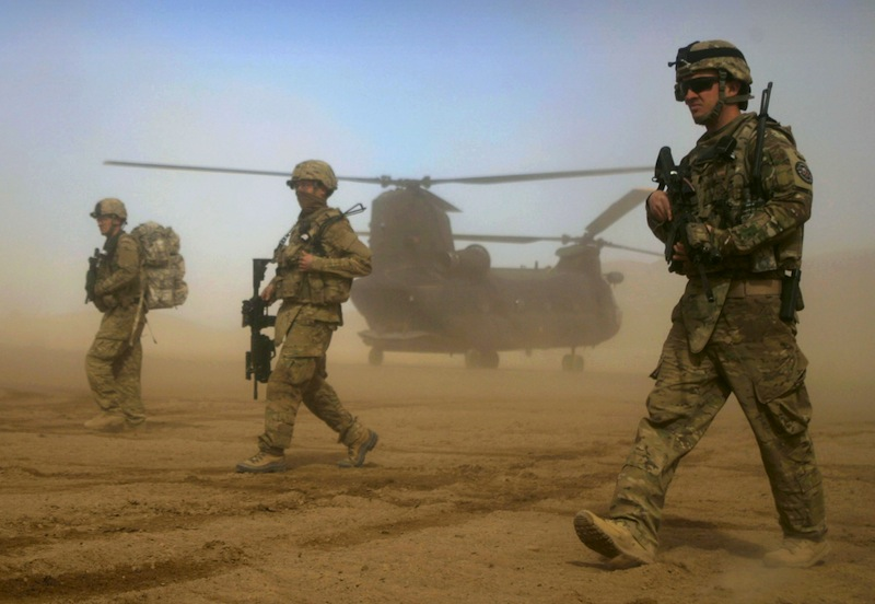The Latest: Pentagon IDs 3 Marines killed in Afghanistan
