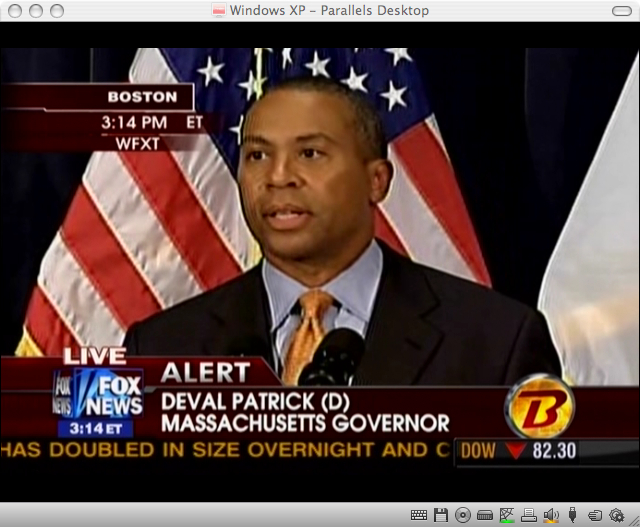Patrick Announces January 19 For Special Election – Talking