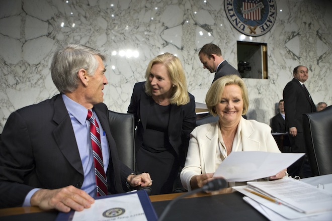 McCaskill, Gillibrand Clash On How To Stop Rape In Military