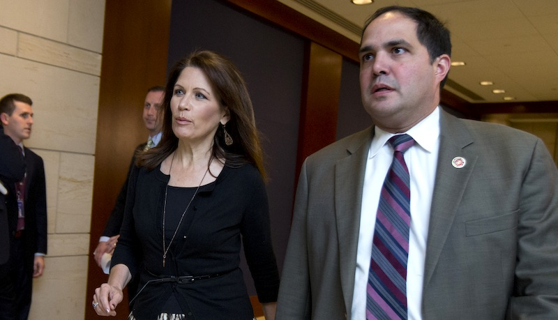 Did Arrested Bachmann Aide Misrepresent His Military Record?