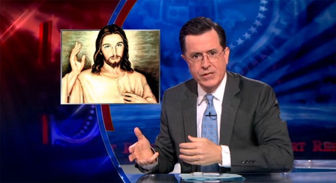Would not colbert gay marriage manage