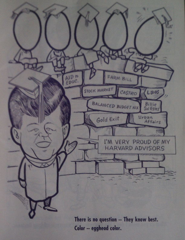 Vintage anti-JFK GOP Coloring Book from Early 60s – Talking Points Memo