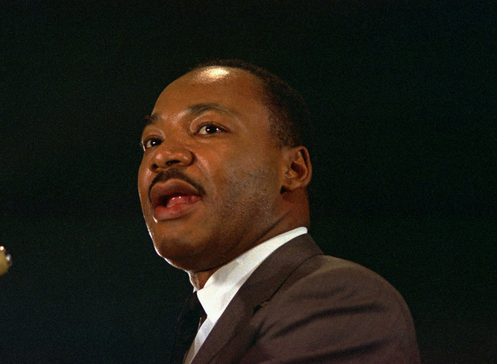 Luther Martin king in color pictures