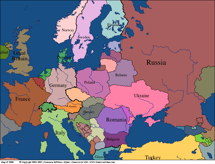 Map Of Europe 1950s.22 Maps That Explain The Centuries Long Conflict In Ukraine