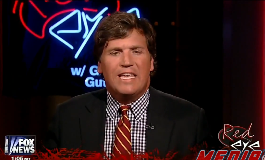 tucker carlson hates both colbert and the twitter chick behind