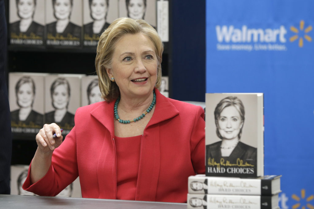 Hillary Sent Her Book To Almost Every GOP Presidential Candidate