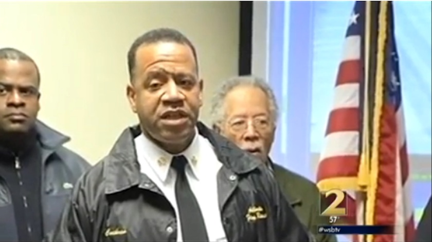 Atlanta Chief Fired Over Anti-Gay Book Now Wants Feds To Help Him Out