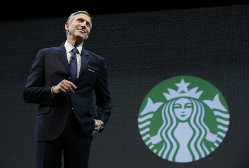 Former Starbucks CEO wants to take on Trump in 2020