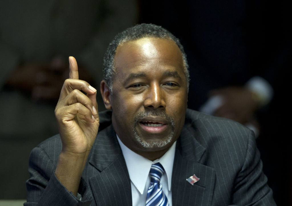 Ben Carson Concedes That Details From His Biography Were 'Fictitious'