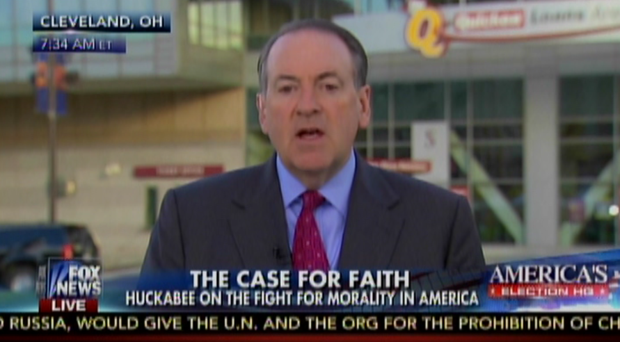 Huckabee To Obama: Show Me The Bible That Changed Your Views On Same-Sex Marriage