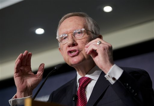Harry Reid Warns GOP: No Shutdown Funny Business Over Syrian Refugees!