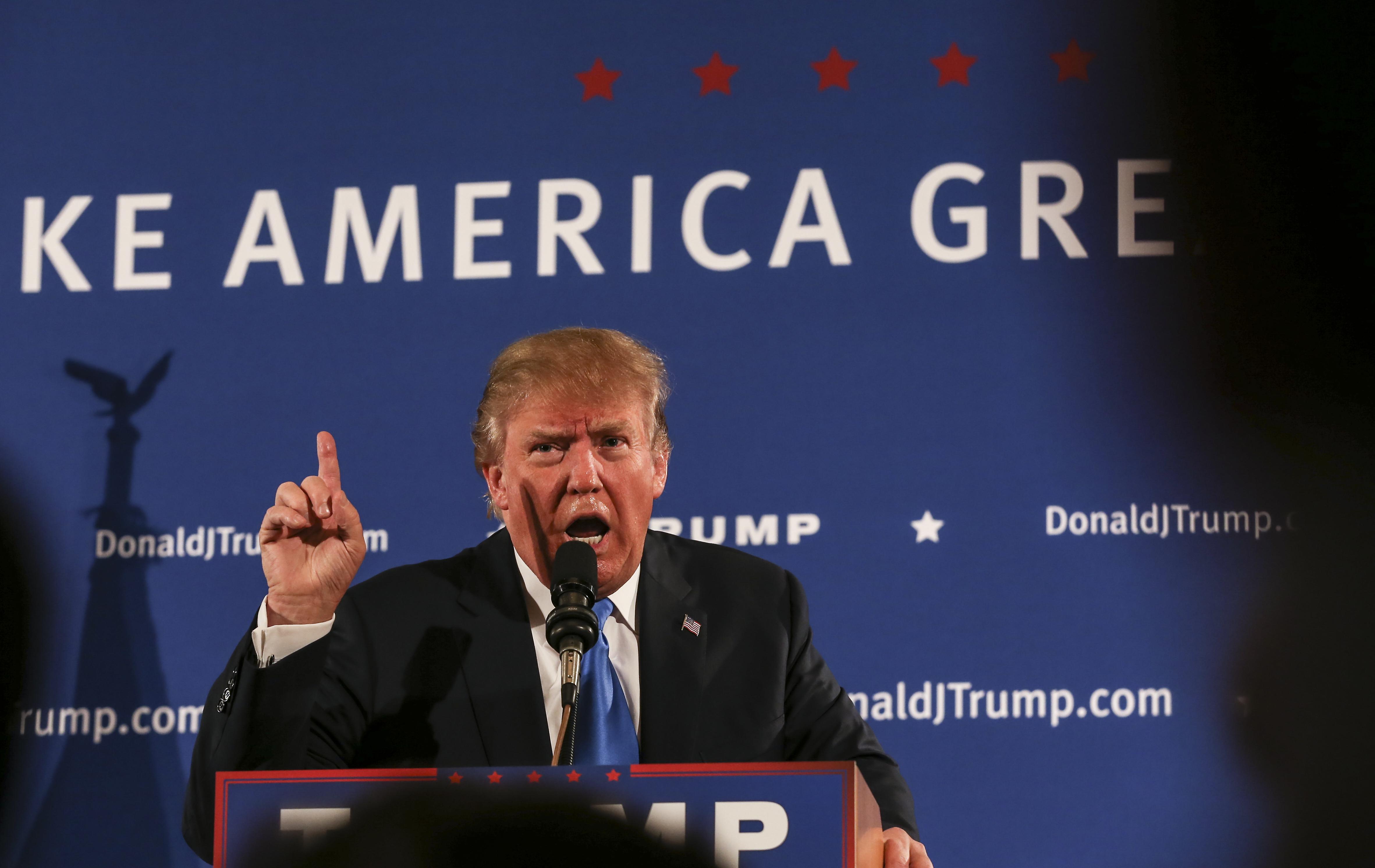 Trump donald on burkas and makeup photos