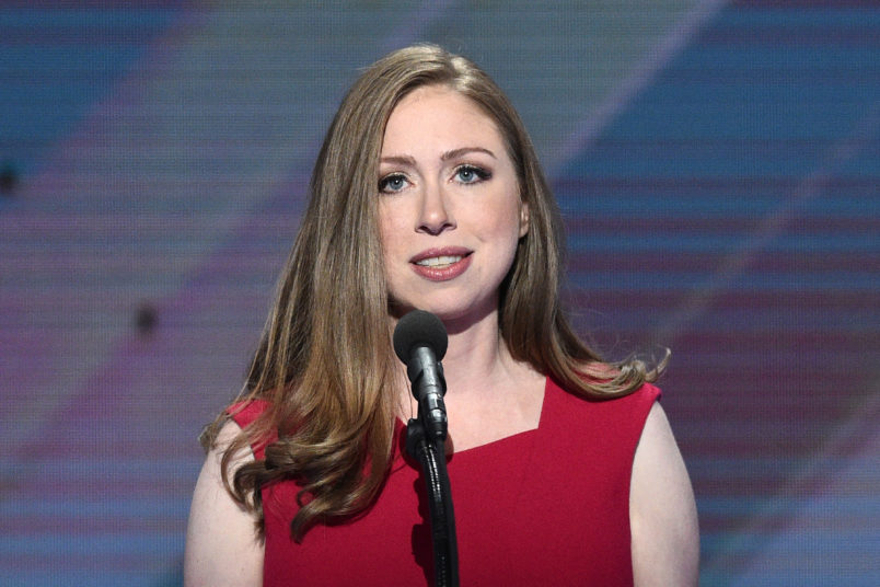 Video shows Chelsea Clinton berated for her 'rhetoric' for causing mosque shootings