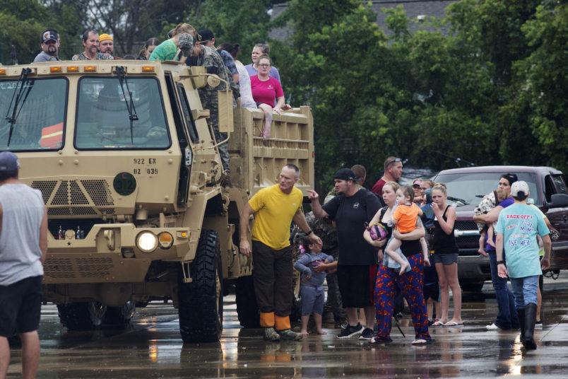 Severe Flooding Engulfs Louisiana, Forcing Mass Evacuations (PHOTOS)