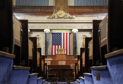The House Chamber on Capitol Hill in Washington, Monday, Dec. 8, 2008. (AP Photo/Susan Walsh)