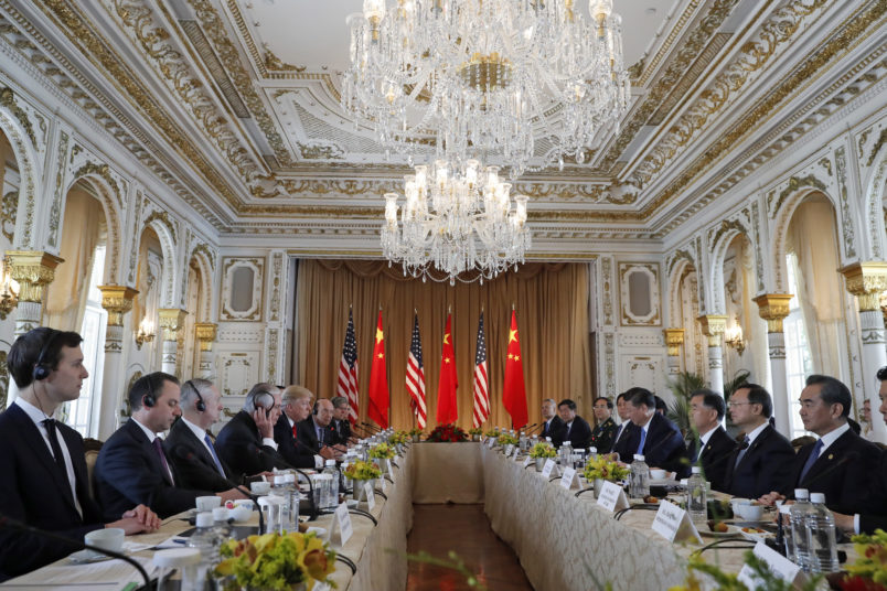 Meeting With Chinese Prez, Trump Says U0027Bad Problems Will Be Going Awayu0027