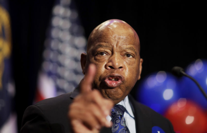 Civil rights icon Rep. John Lewis hospitalized