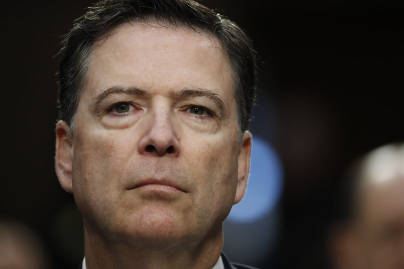 Ex-FBI director James Comey files action to quash Republican congressional subpoena