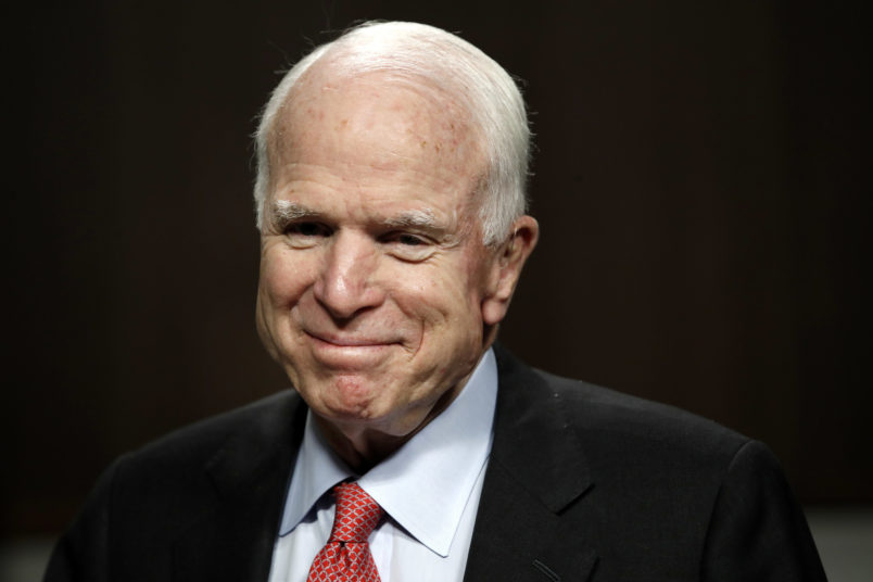 Obama remembers Senator McCain: 'All of us can aspire to his courage'