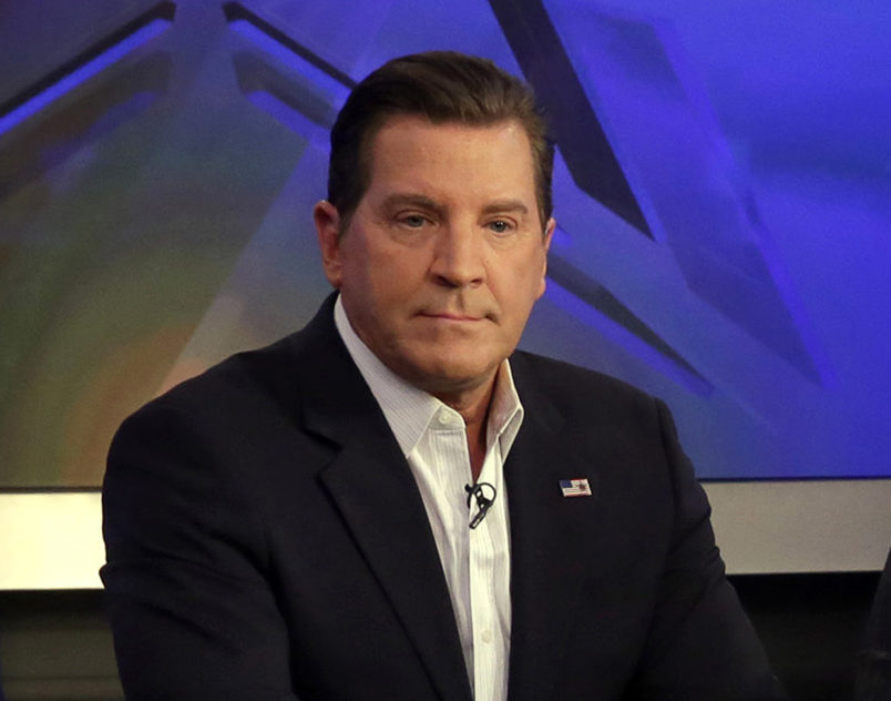 "Republican presidential candidate New Jersey Gov. Chris Christie, fourth left, appears on ""The Five"" television program, on the Fox News Channel, in New York,  Wednesday, July 22, 2015. The show's co-host are, from left: Kimberly Guilfoyle, Juan Williams, Eric Bolling, Dana Perino and Greg Gutfeld. (AP Photo/Richard Drew)"