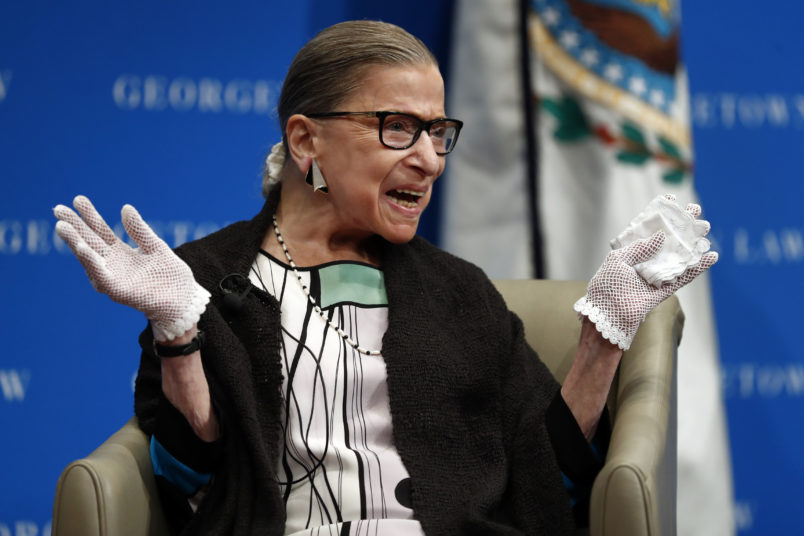 Ginsburg Speaks Out About Her Future on the Supreme Court