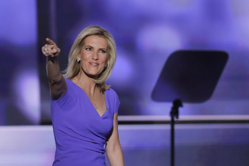 Conservative political commentator Laura Ingraham walks on stage during the third day of the Republican National Convention in Cleveland, Wednesday, July 20, 2016. (AP Photo/J. Scott Applewhite)