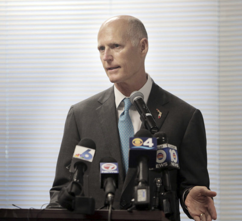 Miami, Florida, July 17, 2017- Governor Rick Scott gave the opening remarks at the Florida Department of Health's Zika Preparedness Planning Meeting in Miami. DOH hosted the meeting with county health departments and mosquito control districts from across the state, as well as CDC officials, to discuss ongoing efforts to prepare for and combat the Zika Virus.