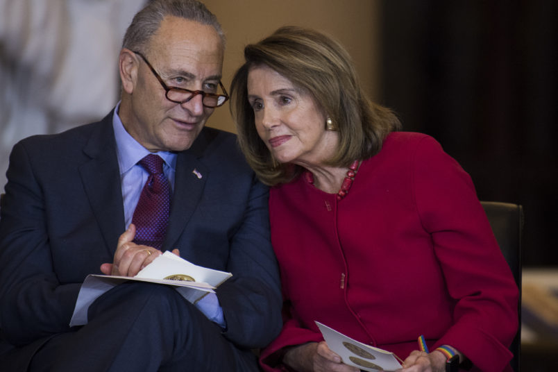 Newly empowered House Democrats pass funding plan without wall