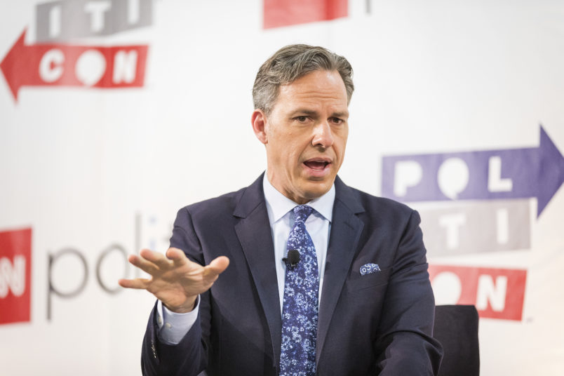 Jake Tapper attends Politicon at The Pasadena Convention Center on Saturday, Aug. 29, 2017, in Pasadena, Calif. (Photo by Colin Young-Wolff/Invision/AP)