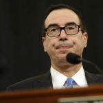 Secretary of the Treasury Steven Mnuchin testifies during a House Committee on Ways and Means hearing on President Donald Trump's fiscal year 2018 budget proposals for the Department of Treasury, Wednesday, May 24, 2017, on Capitol Hill in Washington. (AP Photo/Jacquelyn Martin)