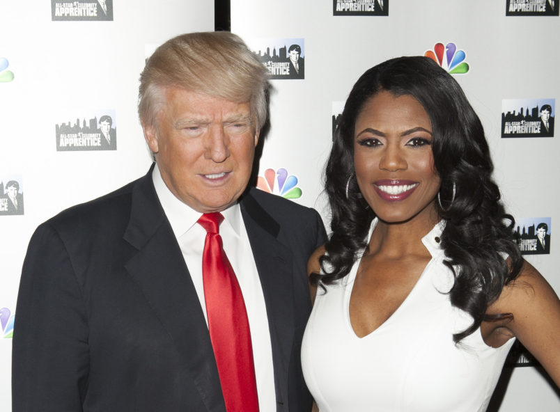 Trump lashes out at Omarosa, calls her