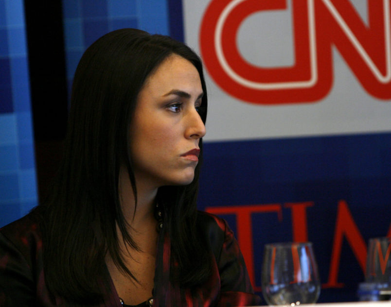speaks during CNN's Media Conference For The Election of the President 2008 at the Time Warner Center on October 14, 2008 in New York City. 16950_5113.JPG