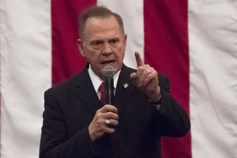 Alabama AG Exploring If Disinformation Tactics Used Against Roy Moore Violate Law