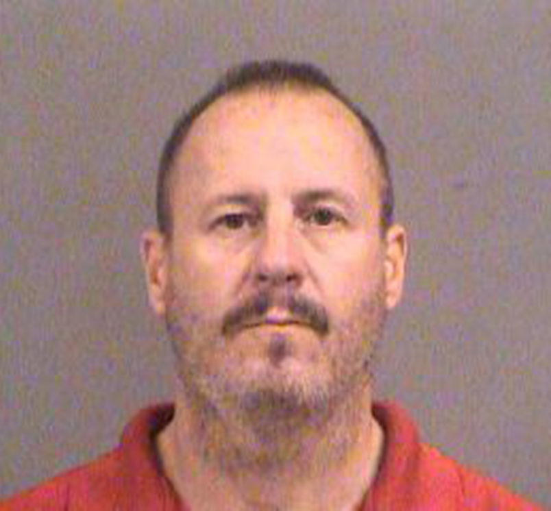 Curtis Allen is one of three men from western Kansas in federal court in Wichita on October 14, 2016, charged with conspiring to detonate a bomb at an apartment complex in Garden City, Kan., where Muslim immigrants from Somalia live and worship. (Bo Rader/Wichita Eagle/TNS)