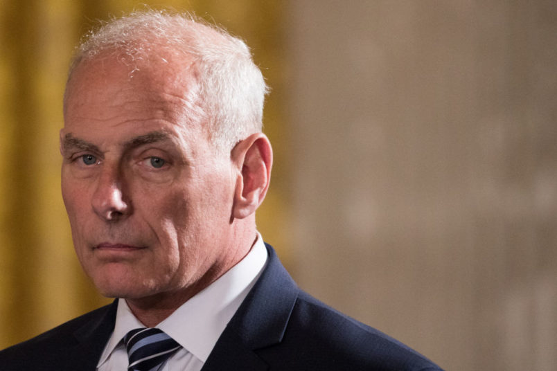 Trump's Chief of Staff John Kelly is leaving the White House