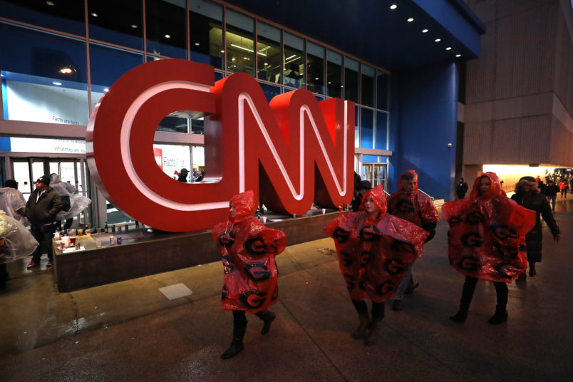 TV station backs off accusation that CNN played politics