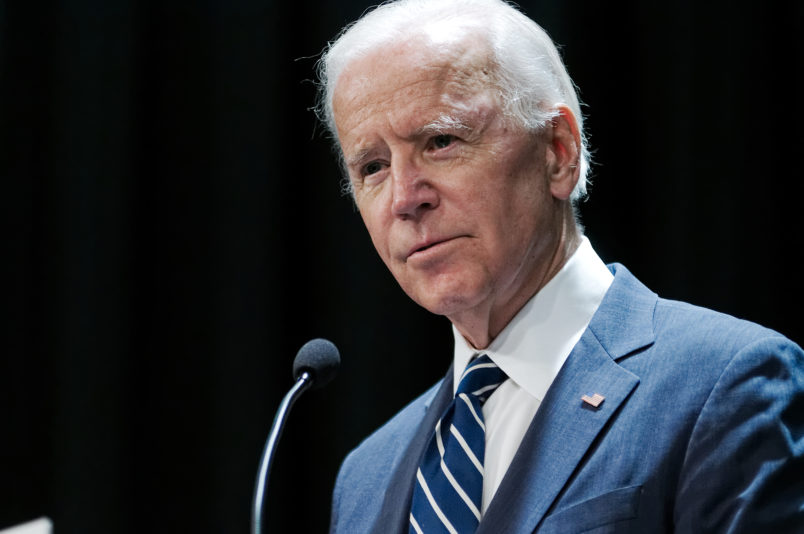 Joe Biden telling donors about 2020 plans