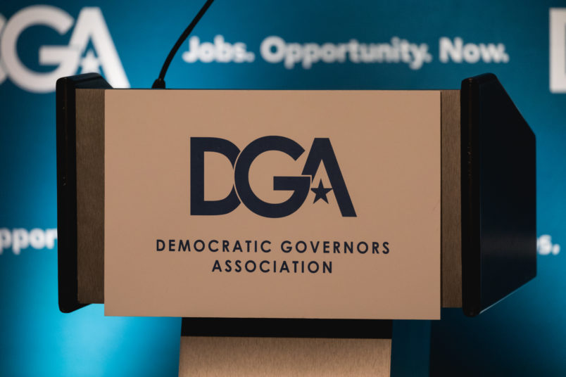 Democratic Governors Association press conference, at the National Governors Association (NGA) Winter Meeting, at the JW Marriott in Washington, D.C., on Saturday, February 24, 2018.  (Photo by Cheriss May/NurPhoto)
