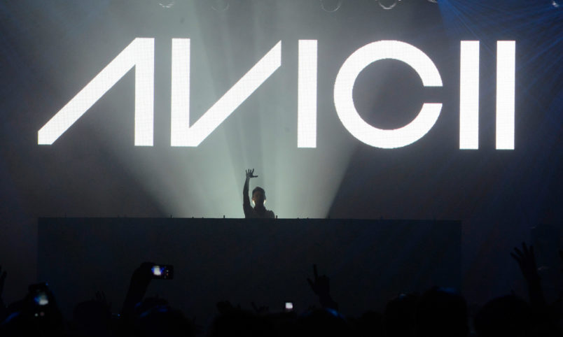Avicii performs at Roseland Ballroom on October 10, 2013 in New York City. *** Local Caption *** Avicii