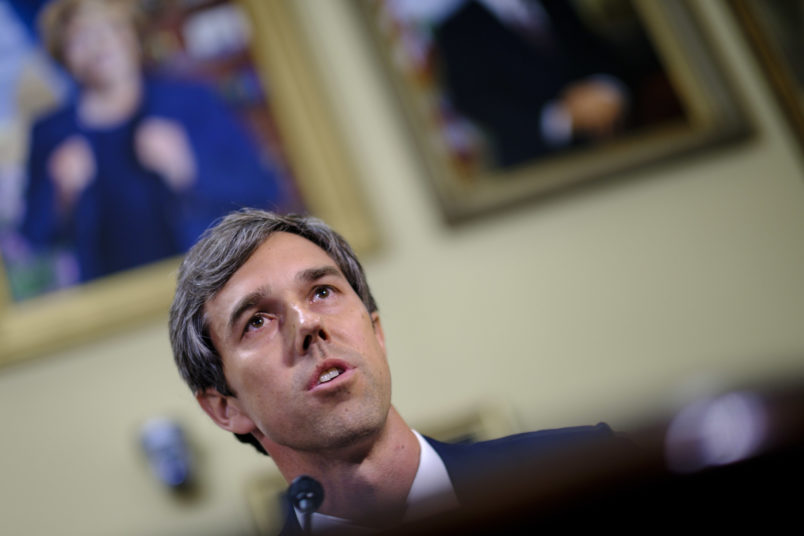 WASHINGTON, DC - July 12:  Rep. Beto O'Rourke (D-TX) offers an amendment to the National Defense Authorization Act for approval so it can be debated on the floor of the House on July 12, 2017 in Washington, DC. (Photo by Pete Marovich/Getty Images)