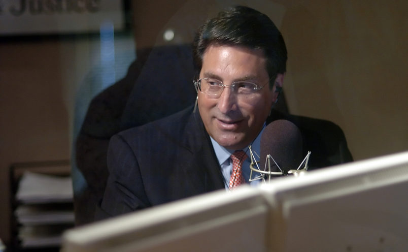 Jay Sekulow, the chief counsel for the American Center for Law and Justice (ACLJ), during his radio show broadcast from the Regent University Law School in Virginia Beach, Virginia, Thursday, August 9, 2007. The ACLJ is a pro-bono organization founded by Pat Robertson, who also founded the 700 Club and the Christian Broadcast Networks (CBN), based in Virginia Beach, Virginia. (Gary C. Knapp/Chicago Tribune/MCT)