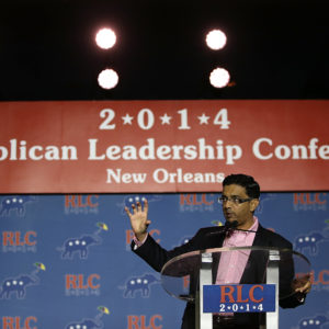 NEW ORLEANS, LA - MAY 30:  speaks during the final day of the 2014 Republican Leadership Conference on May 31, 2014 in New Orleans, Louisiana.  Some of the biggest names in the Republican Party made appearances at the 2014 Republican Leadership Conference, which hosts 1,500 delegates from across the country through May 31.  (Photo by Justin Sullivan/Getty Images)