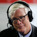 "CLEVELAND, OH - JULY 20: Hugh Hewitt talks about the 2016 presidential race withTed Koppel and Jonathan Alter on his show, ""Alter Family Politics"" at Quicken Loans Arena on July 20, 2016 in Cleveland, Ohio. (Photo by Kirk Irwin/Getty Images for SiriusXM) *** Local Caption *** Hugh Hewitt"