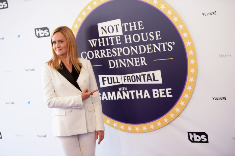 attends Full Frontal With Samantha Bee's Not The White House Correspondents' Dinner at DAR Constitution Hall on April 29, 2017 in Washington, DC.