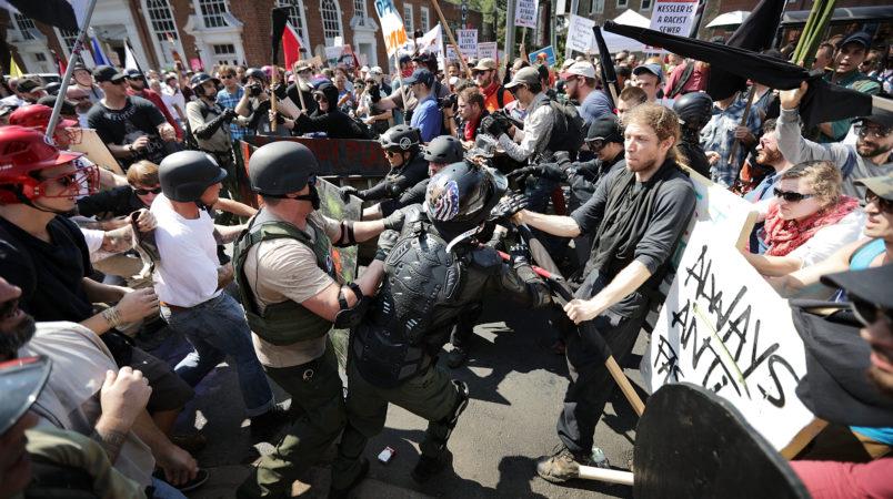 on August 12, 2017 in Charlottesville, Virginia.
