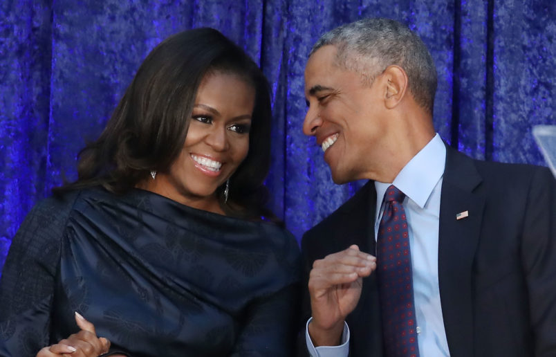 Michelle Obama unseats Hillary Clinton as 'most admired woman'