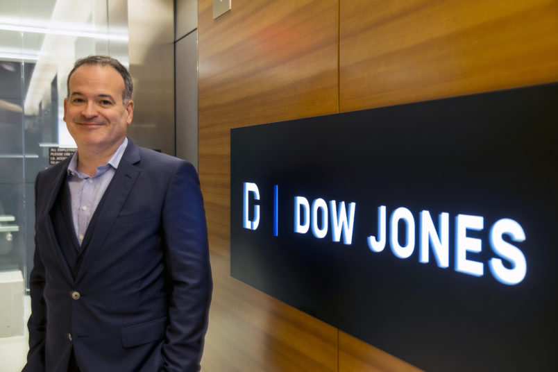 Matt Murray Named Editor-in-Chief of The Wall Street Journal and Dow Jones Newswires photographed on June 5, 2018.Credit: Matthew Riva for The Wall Street Journal