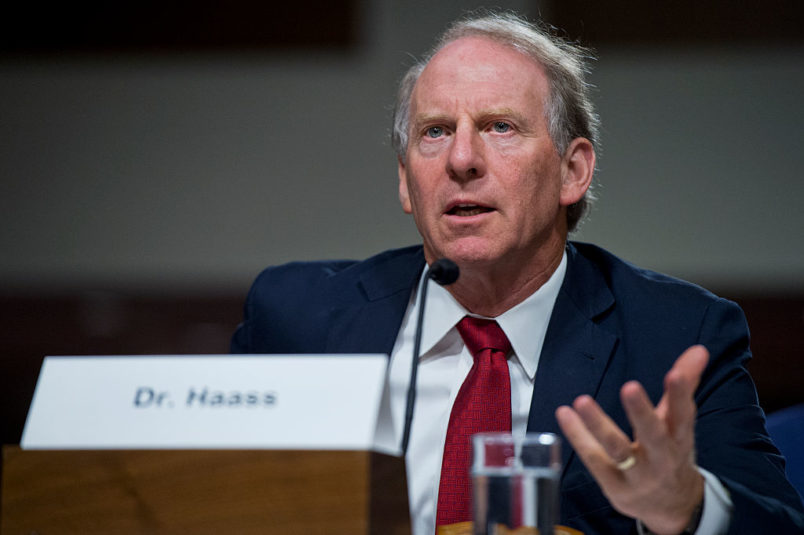 "UNITED STATES - AUGUST 4: Richard Haass, president of the Council on Foreign Relations, testifies during a Senate Armed Services Committee hearing in Dirksen Building on the ""Joint Comprehensive Plan of Action (JCPOA) and the military balance in the Middle East,"" August 4, 2015. (Photo By Tom Williams/CQ Roll Call)"