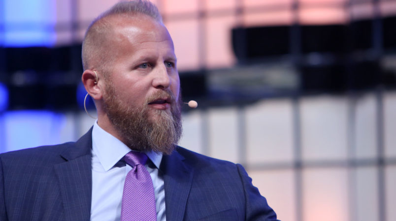(FILE) - Brad Parscale, Digital Director, Donald J. Trump Presidential Campaign, speaks on the third day of the 7th Web Summit in Lisbon, Portugal, 08 November 2017. Media reports on 27 February 2018 state that US President Donald J. Trump has chosen Brad Parscale to run his campaign to win the 2020 re-election bid. ( Photo by Pedro Fiúza/NurPhoto)