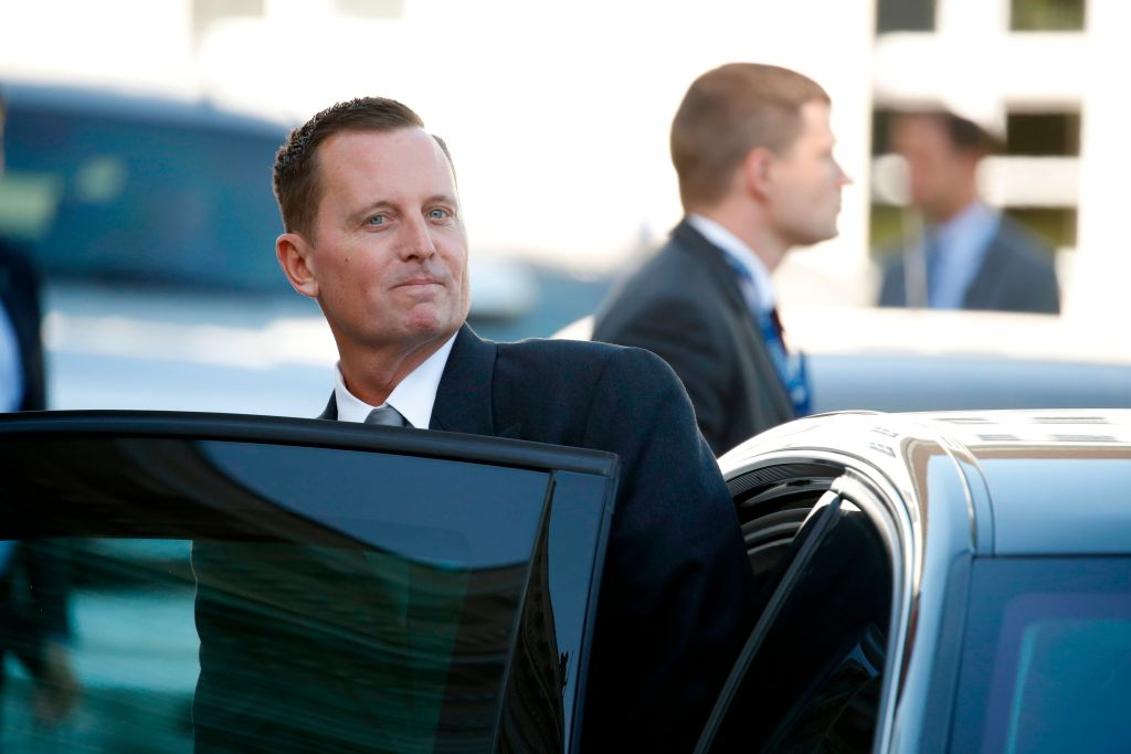 photo image Despite Advice To Pick A Woman, Trump Favoring Grenell As Haley's Replacement